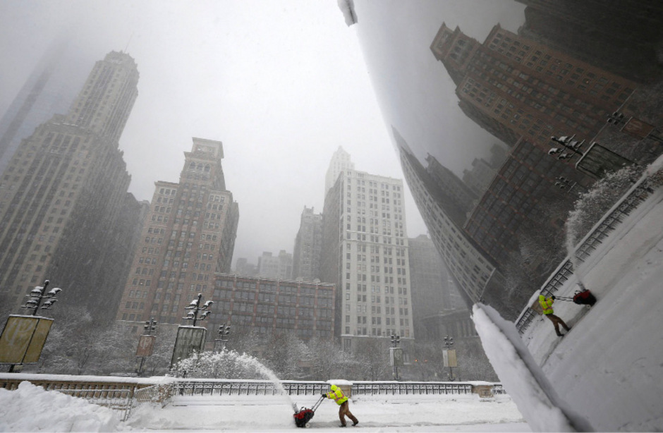 Heftige Winterstürme haben auch Chicago heimgesucht. (Archivfoto)