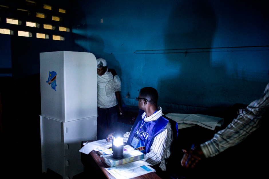 Die Auszählung nach der Wahl im Kongo hat begonnen.