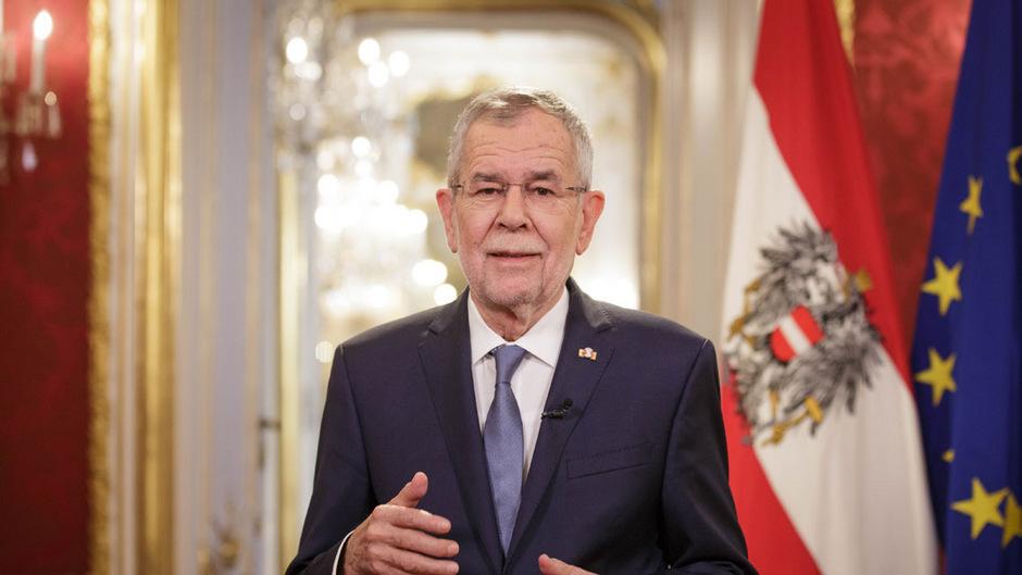 Bundespräsident Alexander Van der Bellen betont in Neujahrsansprache den Frieden als Kern des vereinten Europas.