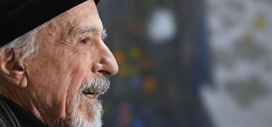 Ein ewig Getriebener: Auch mit 90 Jahren denkt Brauer noch nicht ans Aufhören.