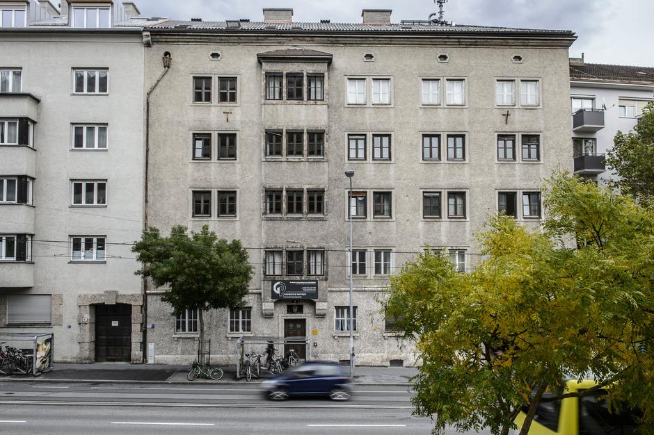 In diesem Innsbrucker Wohnhaus soll ein Hotel entstehen.