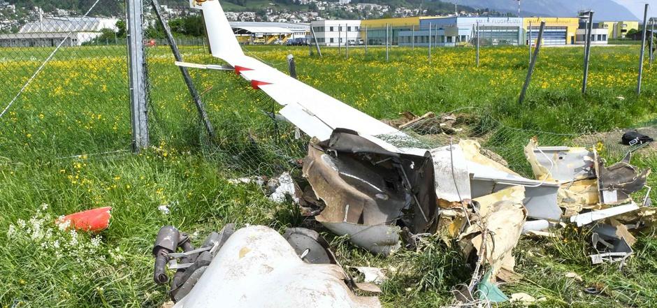 Der Flugzeugabsturz im April forderte zwei Todesopfer.