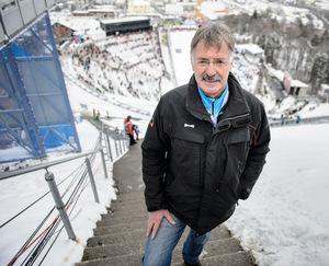 OK-Chef Alfons Schranz erwartet sich für heute gute, aber winterliche Bedingungen und bis zu 18.000 Zuschauer im Stadion.
