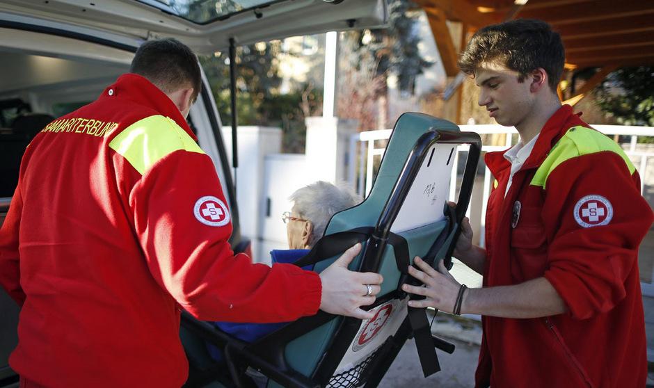 Zivildiener sind für den Betrieb des Samariterbunds dringend notwendig.