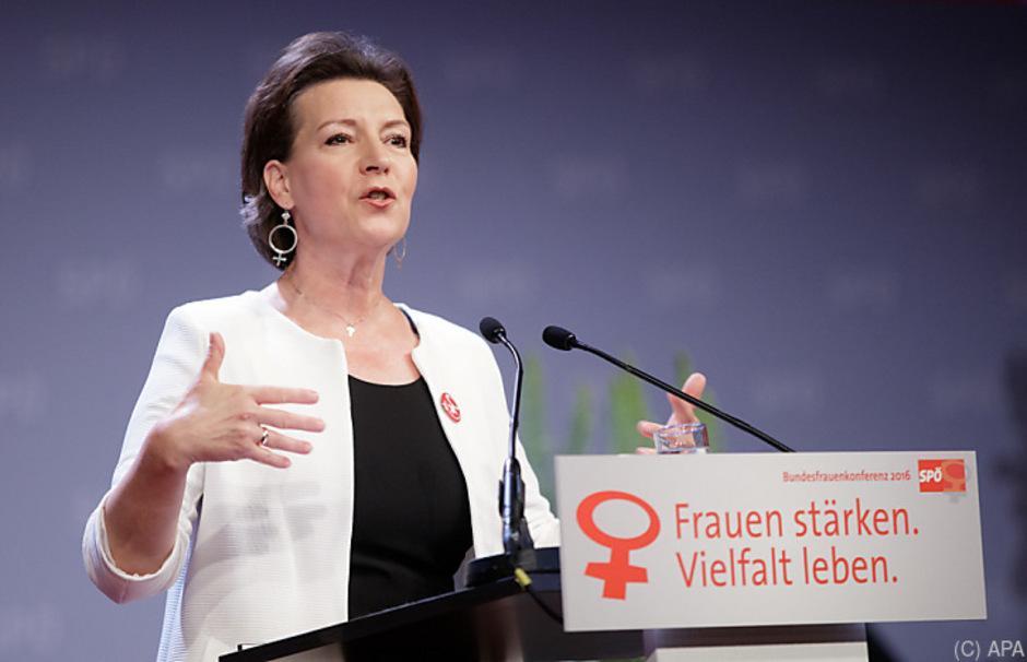 SPÖ-Frauenvorsitzende Gabriele Heinisch-Hosek soll Günther Kräuter in der Volksanwaltschaft ablösen.