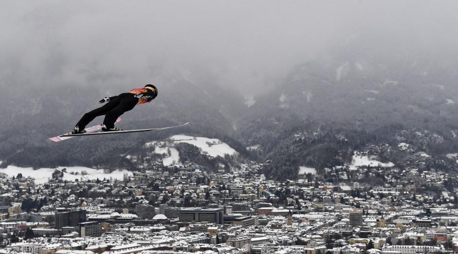 Über den Dächern von Innsbruck spielte Ryoyu Kobayashi seine ganze Klasse aus.
