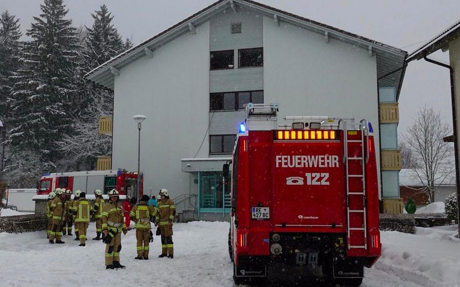 Bei einem Brand in Breitenwang wurde ein 58-Jähriger verletzt.