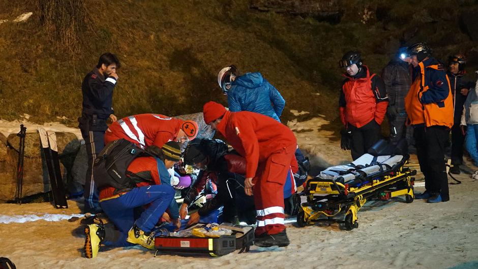 In Tirol verletzen sich jährlich im Schnitt 300 Personen beim Rodeln so schwer, dass sie im Krankenhaus behandelt werden müssen.