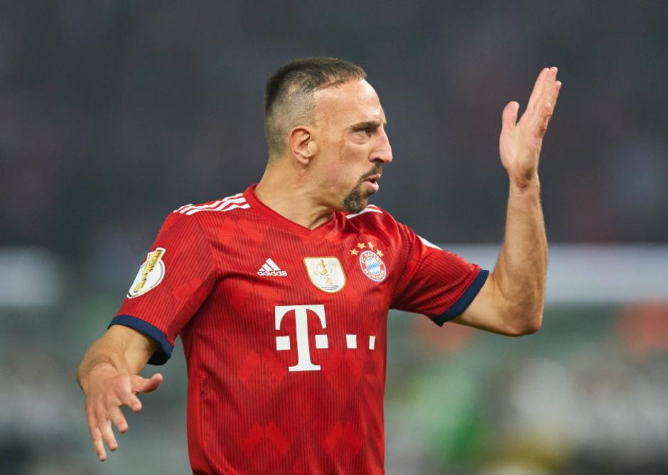 Franck Ribery kommt sein Ausraster teuer zu stehen.