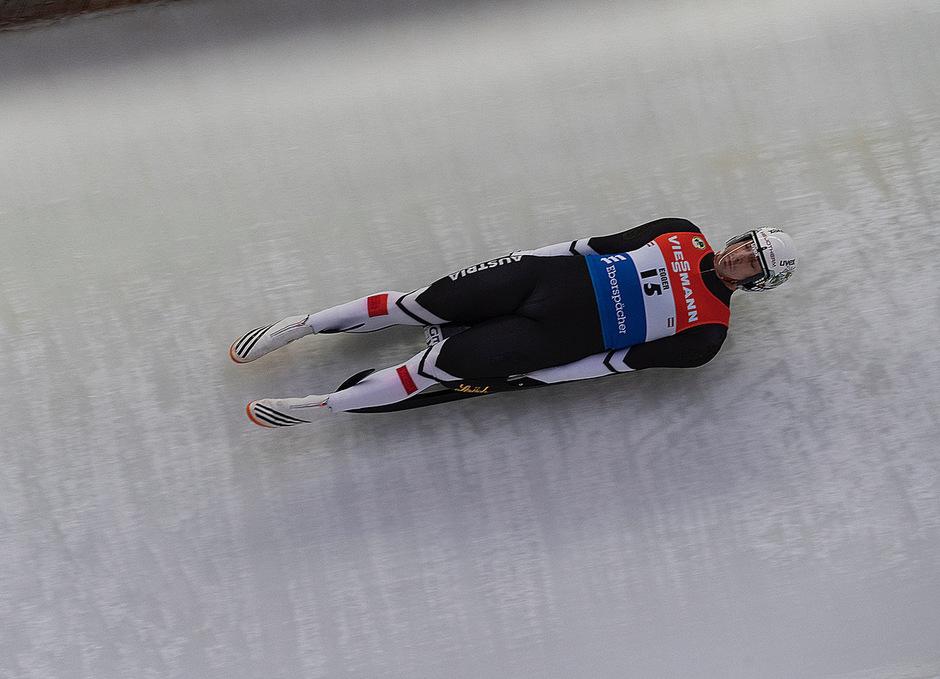 Reinhard Egger raste zu seinem ersten Weltcupsieg.