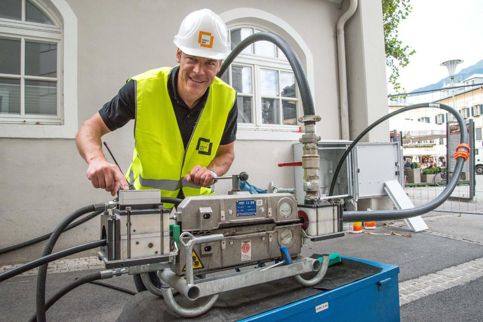 Die Gemeinden des Planungsverbandes 36 Lienz und Umgebung arbeiten an der Glasfaserverlegung bis in die Gebäude.