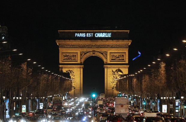 """Nicht nur Paris war """"Charlie"""". Weltweit wurde Solidarität gegenüber des Satiremagazins demonstriert."""