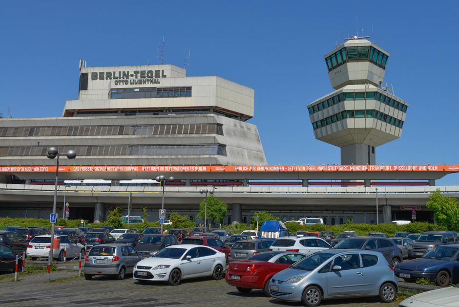 Der Flughafen Tegel in Berlin.
