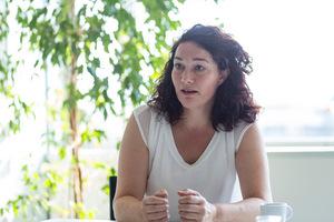 """""""Am Ende des Tages müssen wir es schaffen, die Zahl der Transit-Lkw über den Brenner zu halbieren"""", sagt Ingrid Felipe (LHStv. Grüne)"""