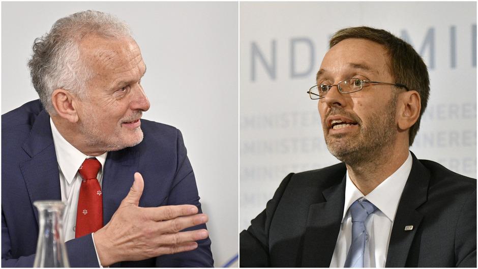 """Moser an Kickl: """"Ich stehe für eine nachhaltige, nachvollziehbare und auf Rechtsgrundsätzen basierende Politik."""" Kickl an Moser: """"Niemand hat den Justizminister gehindert, Berechnungen durchzuführen."""""""