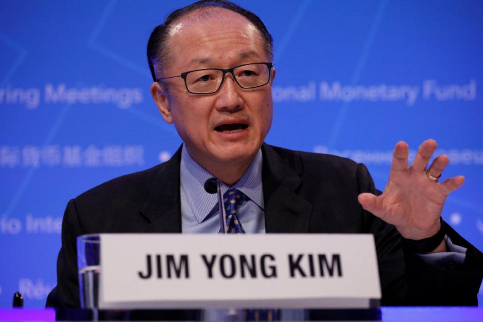 Weltbank-Chef Jim Yong Kim räumt mit Monatsende seinen Sessel.