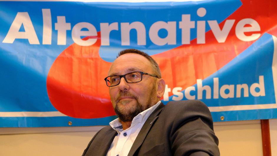 Der Bremer AfD-Landesvorsitzende und Bundestagsabgeordnete Frank Magnitz.