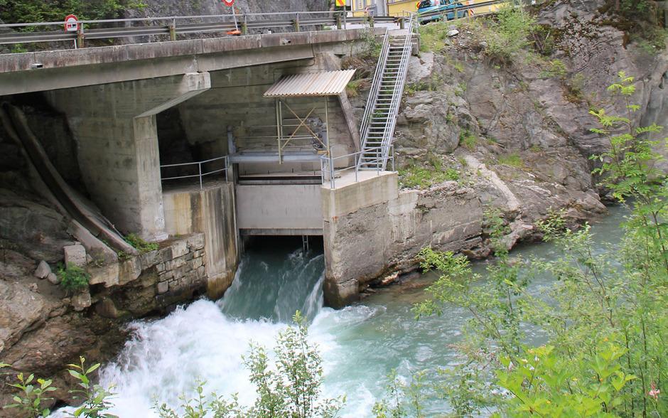 Mit dem Kraftwerk Wiesberg gibt es bereits einen Stromerzeuger an der Trisanna.