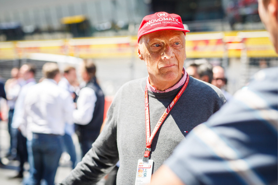 Formel-1-Legende Niki Lauda.