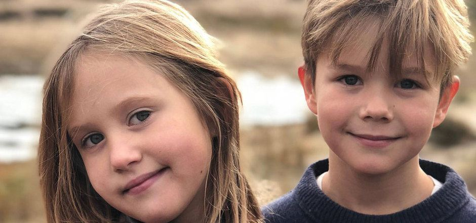Die Zwillinge Prinz Vincent und Prinzessin Josephine.