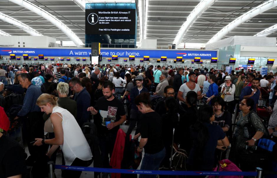 Passagiere am Flughafen Heathrow. (Archivbild)