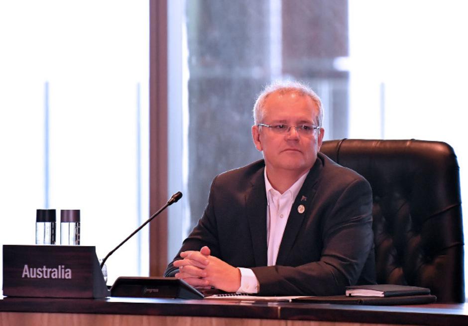 Der australische Premierminister Scott Morrison.