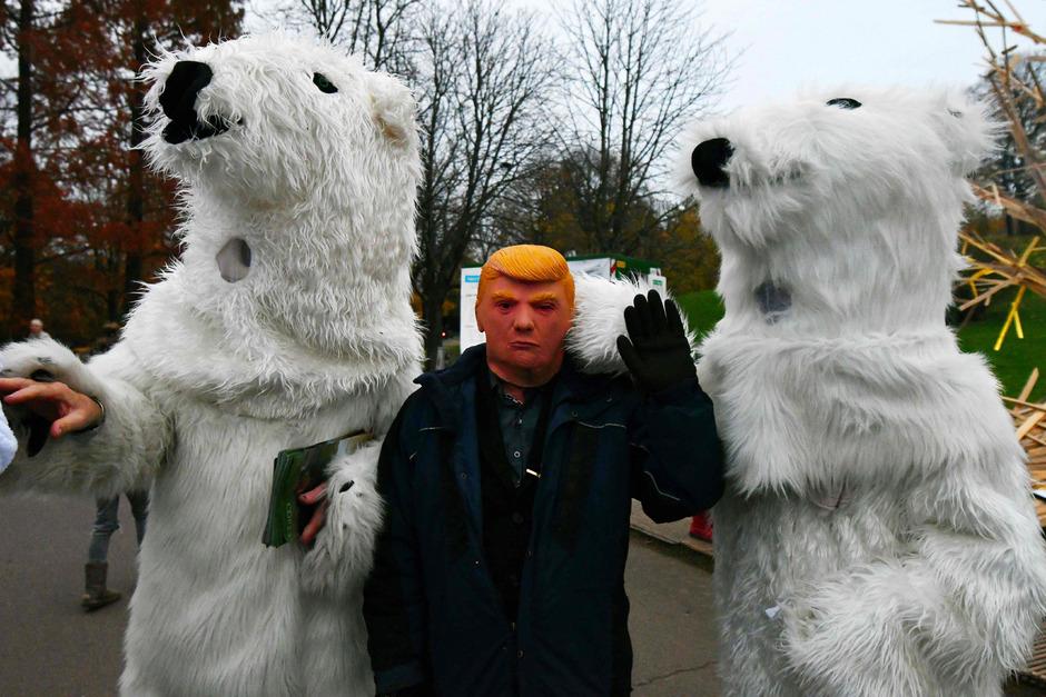 Proteste gegen die Klimapolitik der USA.