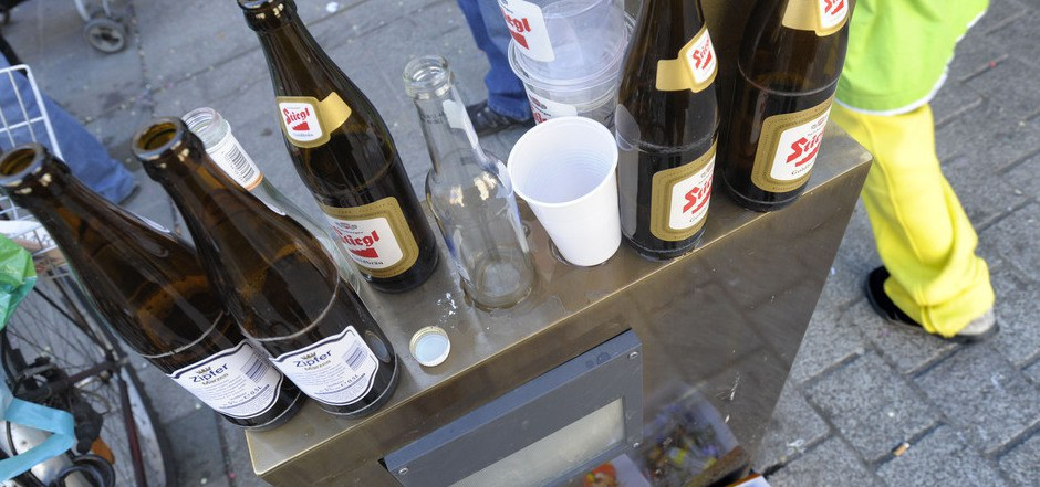 Das Alkoholverbot rund um die Mentlvilla in Innsbruck könnte bald endgültig fixiert werden.