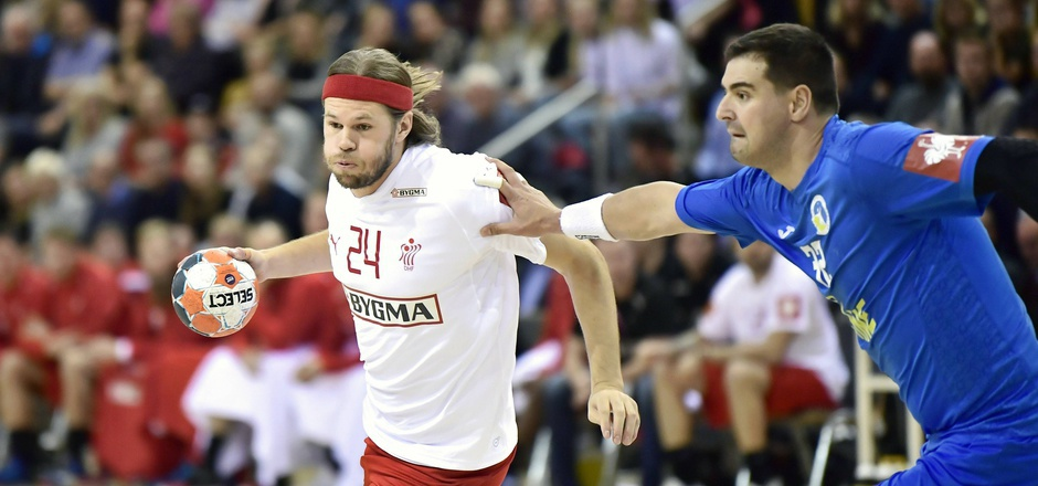 Mit Topstar Mikkel Hansen bekommt es in der Vorrunde auch Österreich zu tun.