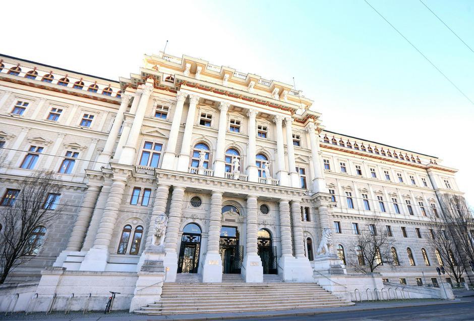 Der Sitz des Obersten Gerichtshofs und des Oberlandesgerichts Wien.
