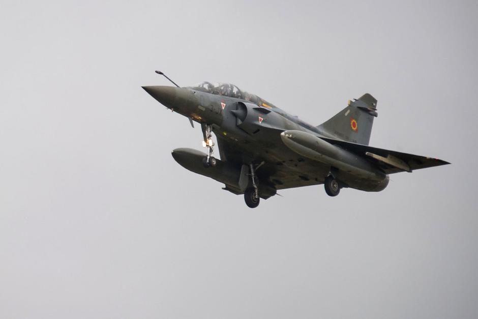 Eine Dassault Mirage 2000D.