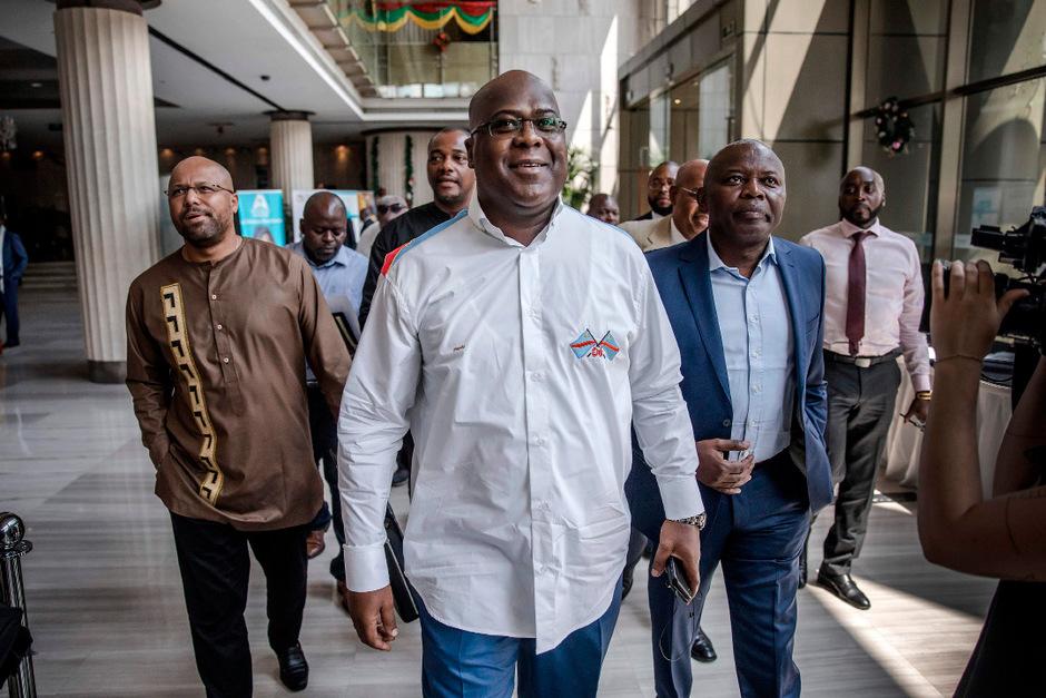 Felix Tshisekedi dürfte neuer Präsident im Kongo werden.