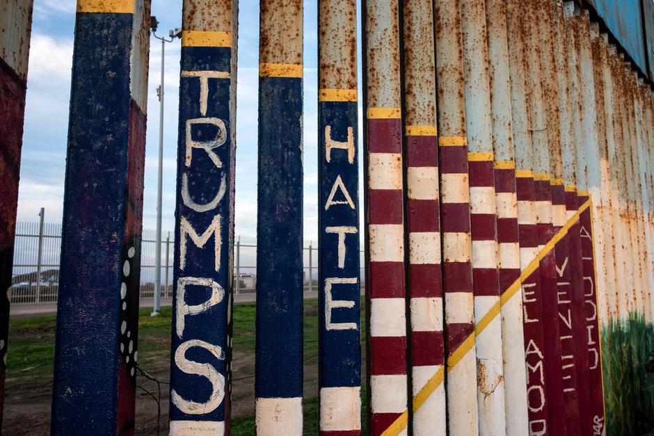 An diesem Donnerstag besucht der US-Präsident Donald Trump die Grenze in Texas.