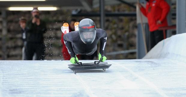 Die Rumer Skeleton-Pilotin Janine Flock konnte vor fünf Jahren bereits EM-Gold am Königssee gewinnen.
