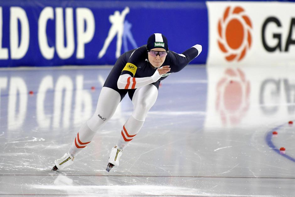 Im schneefreien Südtiroler Klobenstein nimmt Vanessa Herzog am Wochenende den Europameistertitel im Sprint ins Visier.