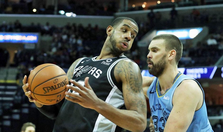 Matchwinner beim Spurs-Sieg: LaMarcus Aldridge.