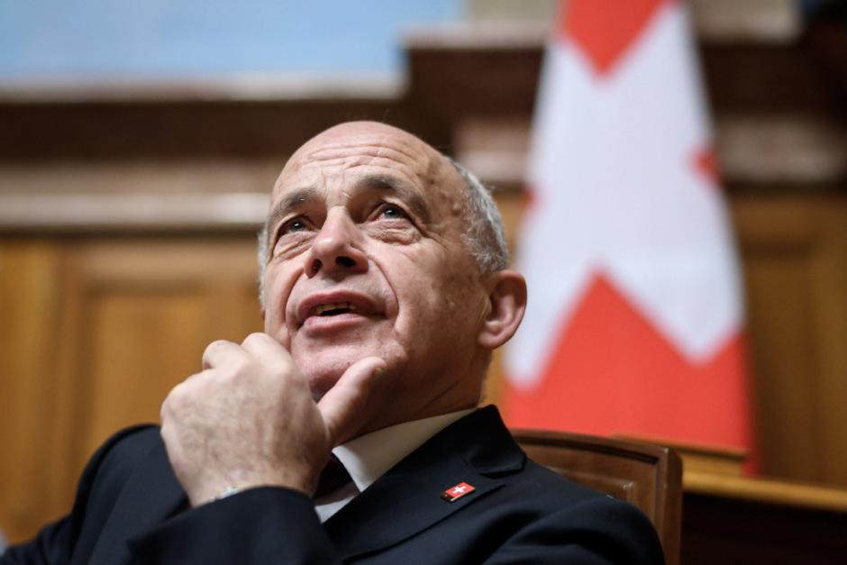Der Schweizer Bundespräsident Ueli Maurer.