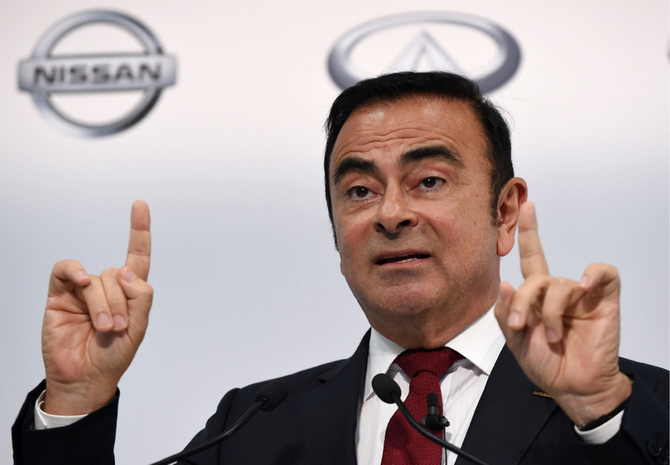 Ex-Autoboss Carlos Ghosn.