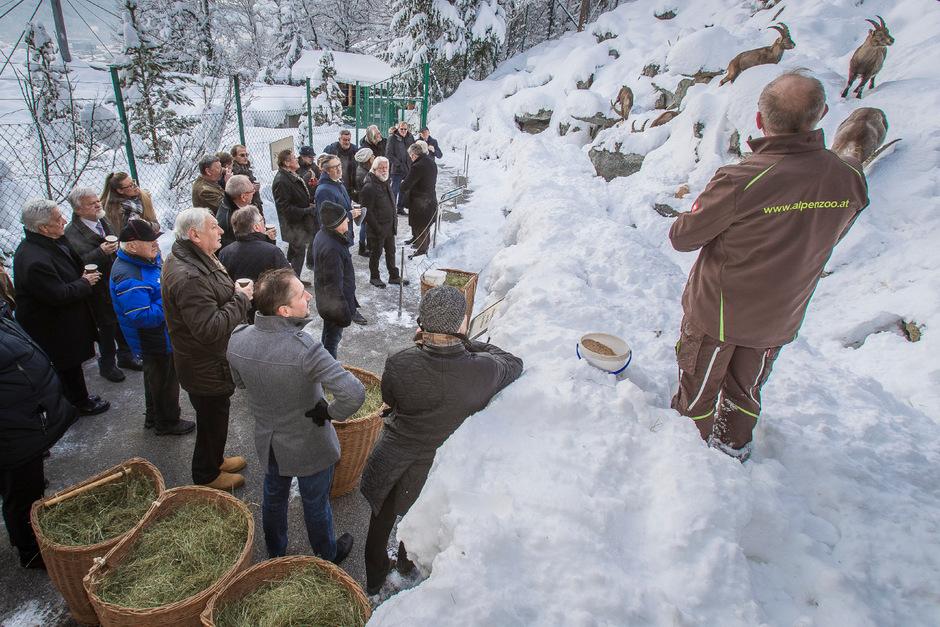 Die Bruderschaft der Steinböcke feierte am Samstag auch heuer wieder mit ihren Patentieren gemeinsam Geburtstag.