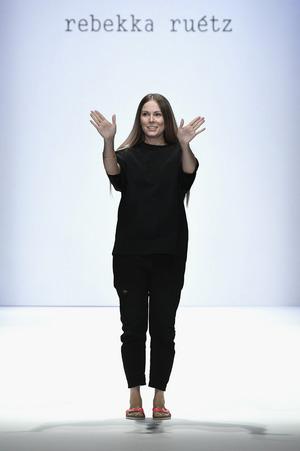 Rebekka Ruetz im vergangegenen Jahr bei der Berliner Modewoche.