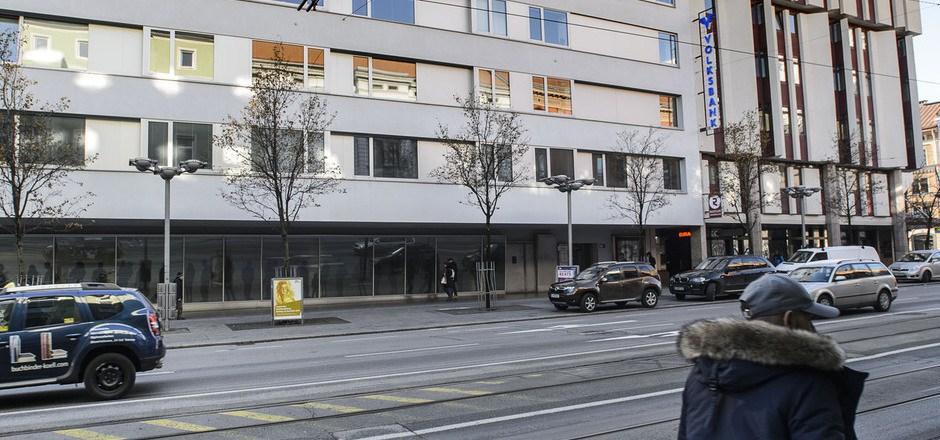 Der Innenstadtverein fordert eine neue Beleuchtung in der Innsbrucker Museumstraße.