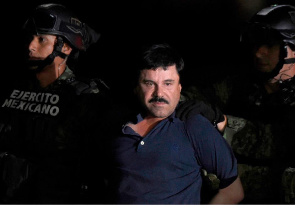 """Drogenboss Joaquin """"El Chapo"""" Guzman."""
