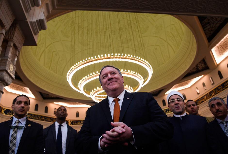 US-Außenminister Mike Pompeo tourt seit Dienstag durch diverse Länder in Nahost.