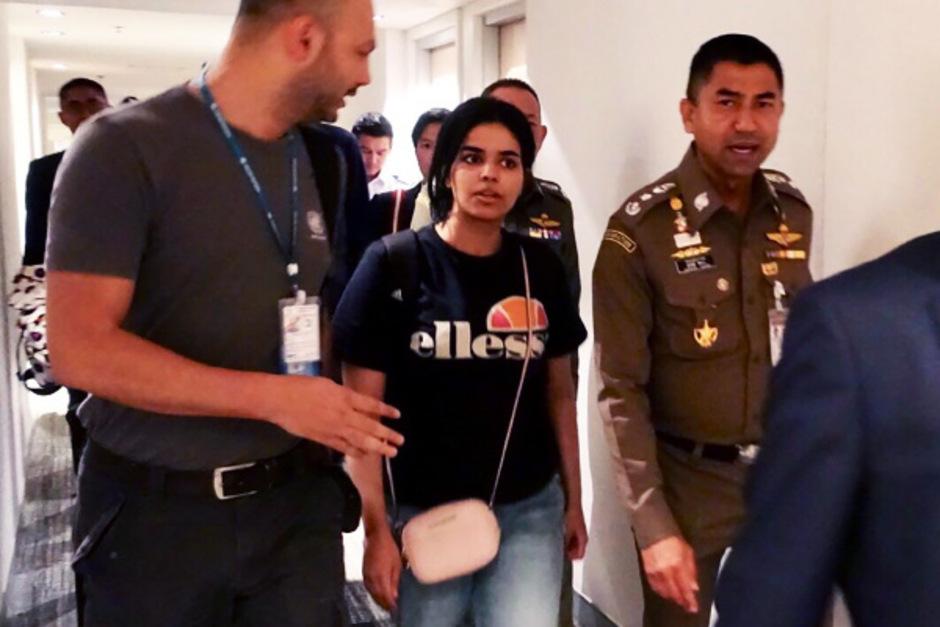 Kanada gewährt der 18-jährigen Rahaf Mohammed al-Qunun el-Kunun Asyl.