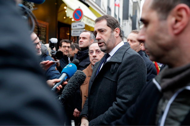 Innenminister Christophe Castaner.