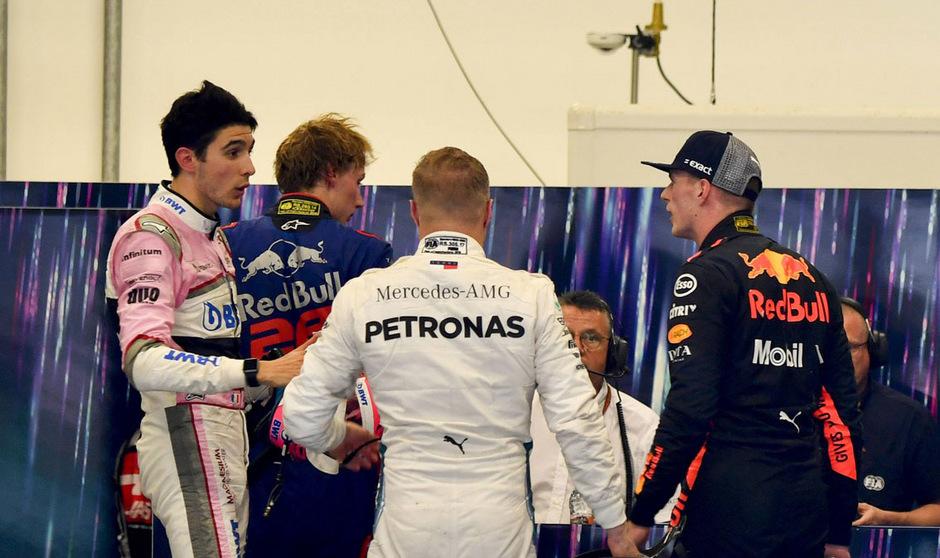 Nach dem Rennen knöpfte sich Max Verstappen Esteban Ocon vor. Das Nachspiel hat für den Red-Bull-Piloten Konsequenzen.