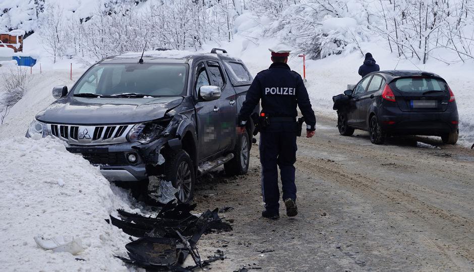 Am Fahrzeug des Deutschen entstand Totalschaden.