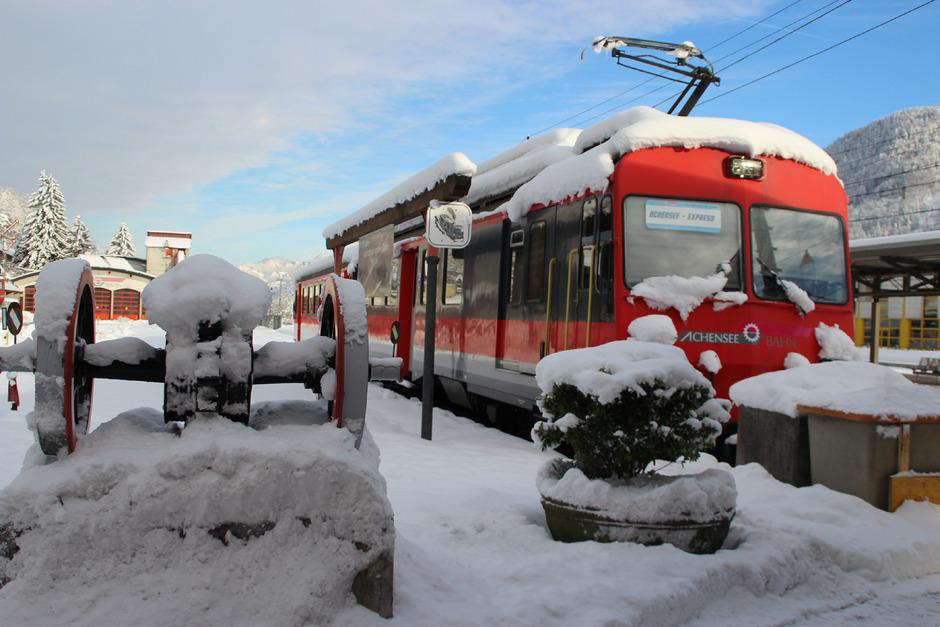 Pro und Contra gibt es um die Elektrifizierung der Achenseebahn mit Appenzeller Garnituren.