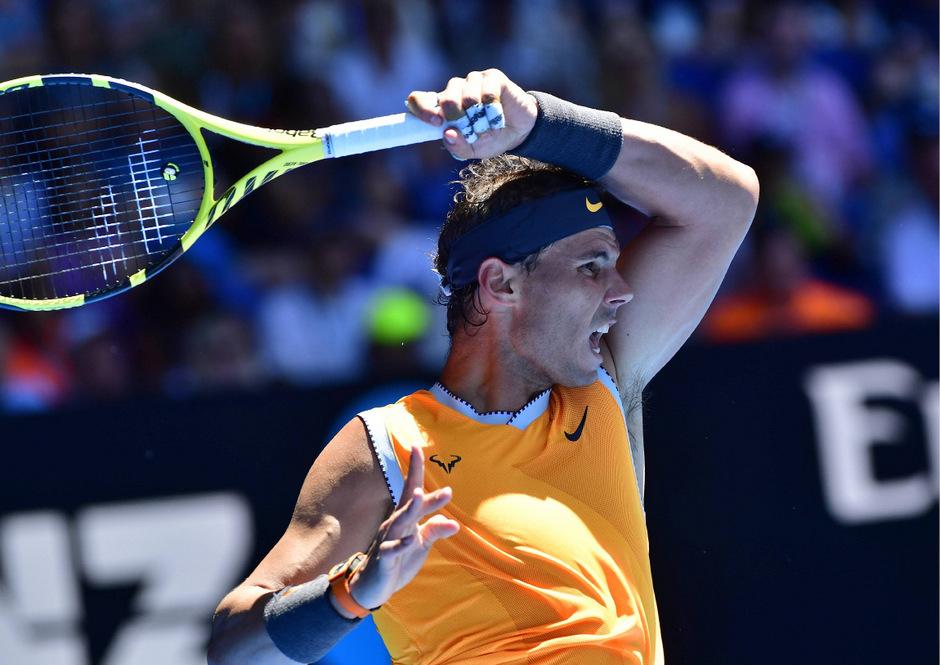 Rafael Nadal startete ohne Satzverlust in die Australian Open.