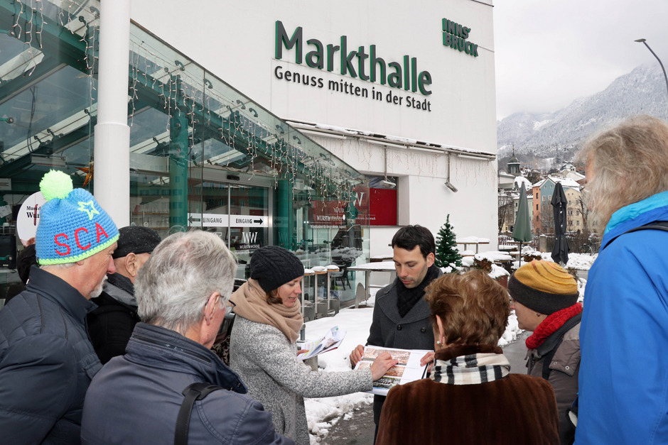 Vom Marktplatz bis zur Unibrücke: Vertreter der Stadtplanung gaben den Bürgern einen Einblick in das Projektgebiet.